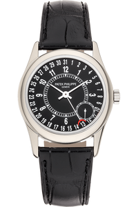 Calatrava Reference 6000 White Gold Automatic