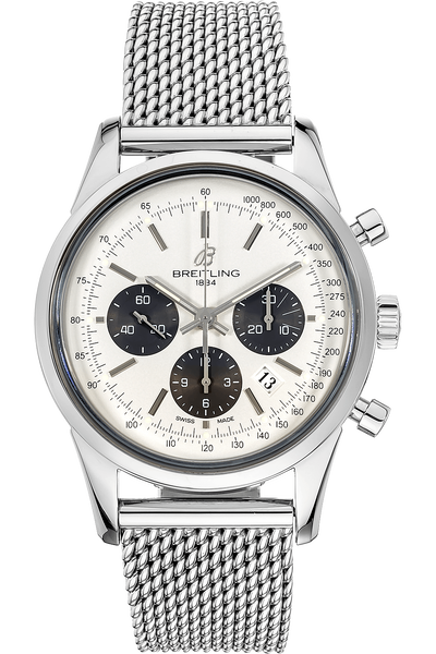 c96769002f0 Pre-Owned Breitling Transocean Chronograph (AB015212/BA99)