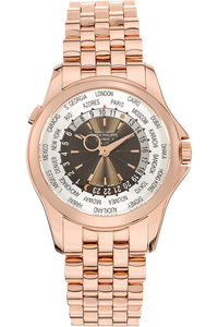 World Time Reference 5130 Rose Gold Automatic