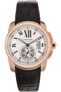 Calibre de Cartier Rose Gold Automatic