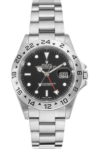 Explorer II Swiss Made Dial No Lug Holes Stainless Steel Automatic