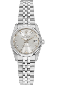 Datejust Circa 1986 White Gold and Stainless Steel Automatic