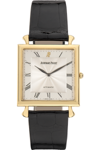 Square Circa 1980's Yellow Gold Automatic