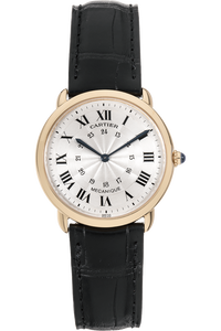 Ronde Louis de Cartier  Yellow Gold Manual