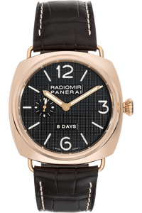 Radiomir 8 Days Rose Gold Manual