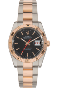 Datejust Turn-O-Graph Rose Gold and Stainless Steel Automatic