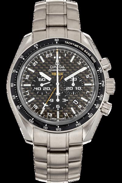 Speedmaster HB-SIA Co-Axial GMT Titanium Automatic
