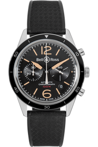 BR 126 Sport Heritage Chronograph  Stainless Steel Automatic