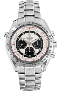 Speedmaster Broad Arrow Rattrapante Stainless Steel Automatic