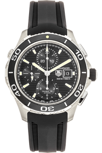 Aquaracer 500 Calibre 16 Chronograph Stainless Steel Automatic