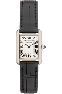 Tank Louis Cartier White Gold Quartz