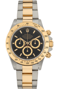 Daytona Zenith Movement Yellow Gold and Stainless Steel Automatic