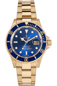 Submariner Yellow Gold Automatic