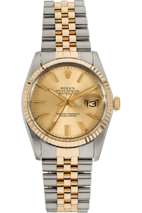 Datejust Circa 1984 Yellow Gold and Stainless Steel Automatic