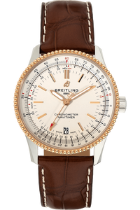 Navitimer 01 Rose Gold and Stainless Steel Automatic
