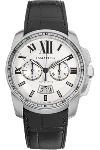 Calibre de Cartier Chronograph Stainless Steel Automatic