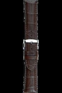 18 mm Brown Alligator Strap
