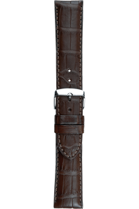 20 mm Brown Alligator Strap