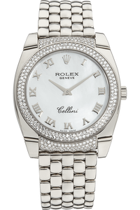 Cellini Cestino White Gold Quartz