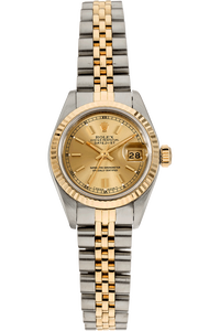 Datejust Circa 1989 Yellow Gold and Stainless Steel Automatic