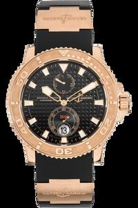 Maxi Marine Diver Rose Gold Automatic