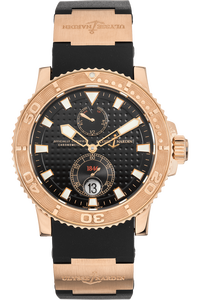 Maxi Marine Diver Rose Gold Automatic