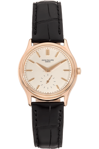 Calatrava Reference 3923 Rose Gold Manual