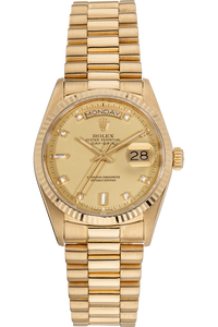 Day-Date Circa 1986 Yellow Gold Automatic