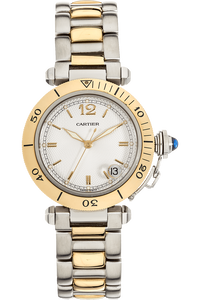 Pasha Diver Yellow Gold and Stainless Steel Automatic