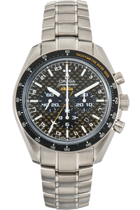Speedmaster HB-SIA Co-Axial GMT Titanium Automatic