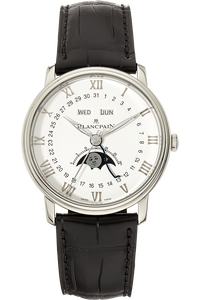 Villeret Complete Calendar Moonphase Stainless Steel Automatic