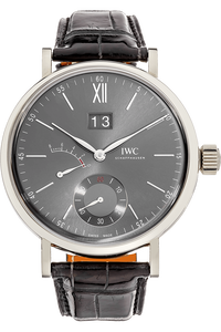 Portofino Hand-Wound Big Date White Gold Manual