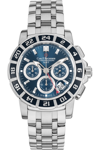 Patravi GMT Chronograph Stainless Steel Automatic