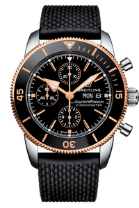 Superocean Heritage II Chronograph 44 Steel & Rose Gold
