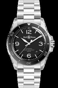 BRV2-92 Black Steel (on bracelet)
