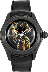 Bubble Dani Olivier PVD Black and Stainless Steel Automatic