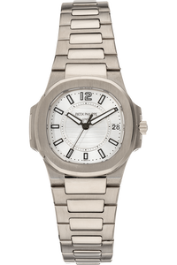 Nautilus Reference 7011 White Gold Quartz