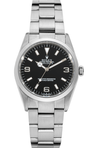 Explorer Swiss Made Dial No Lug Holes Stainless Steel Automatic