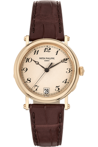 Calatrava Officer's Watch Reference 5053 Yellow Gold Automatic