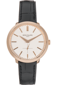 Calatrava Reference 5123 Rose Gold Manual
