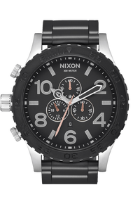 51-30 Chrono, Black / Steel