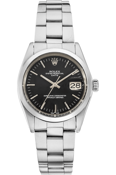 Date Circa 1972 Stainless Steel Automatic