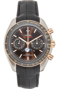 Speedmaster Moonwatch Co-Axial Master Moonphase Rose Gold and Stainless Steel Automatic