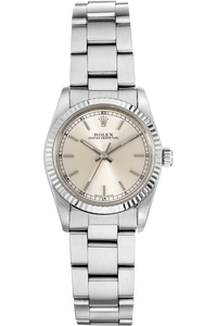 Oyster Perpetual Circa 1989 White Gold and Stainless Steel Automatic