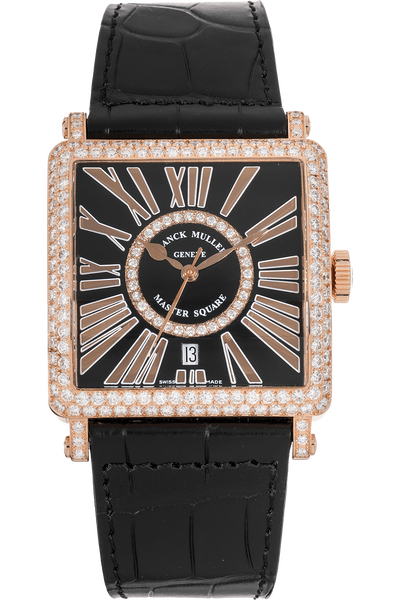 Master Square  Rose Gold Automatic