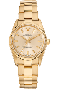 Oyster Perpetual Yellow Gold Automatic