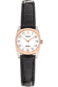 Cellini Danaos White Gold and Rose Gold Quartz