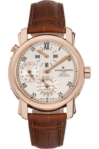 Malte Dual Time Regulator Rose Gold Automatic