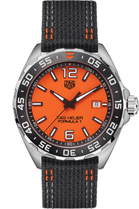 Formula 1 Quartz Orange Nylon Watch