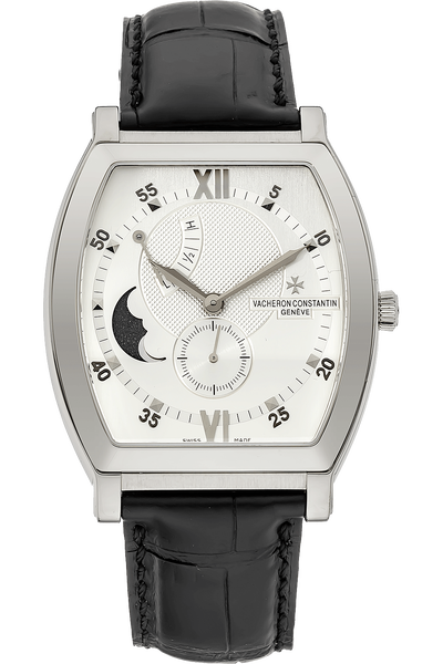 Malte Moon Phase Power Reserve White Gold Manual